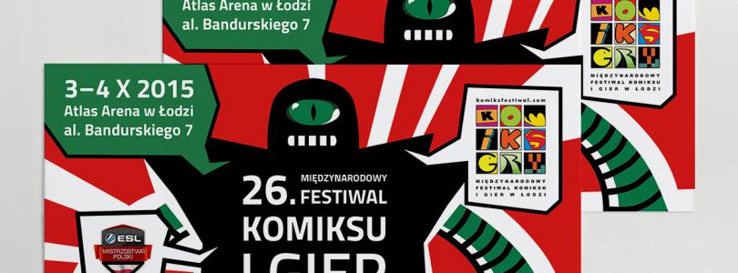 [Relacja] Międzynarodowy Festiwal Komiksu i Gier w Łodzi 2015