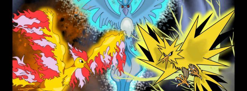 [Konkurs zakończony] Legendarne Pokémony – Ptaki