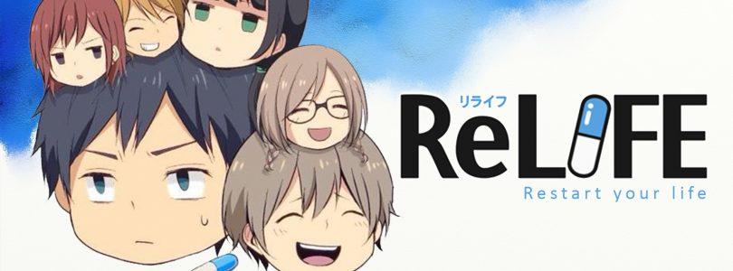 [Manga] ReLife, czyli program resocjalizacyjny w pigułce