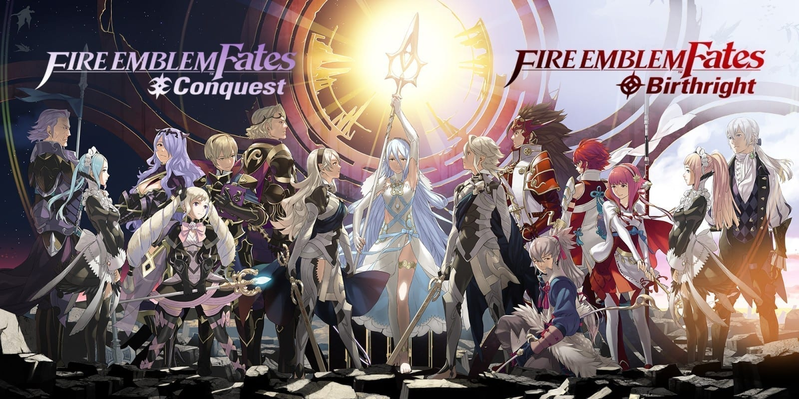 [Megarecenzja] Fire Emblem Fates - po której jesteśstronie?